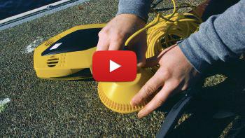 Onderwater drone Dory in actie