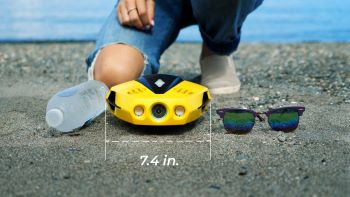 Zo klein is de Dory onderwater drone